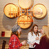 WARREN DILLAWAY / Star Beacon<br /> RHONDA SINGER of Willowick (left) talks with friends during the Ice Wine Festival at Laurello Vineyards on Saturday in Austinburg Township.