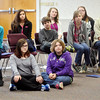 WARREN DILLAWAY / Star Beacon<br /> SEVENTH AND eighth grade students from numerous Ashtabula County school distrcts attended the English Festival at Kent State University-Ashtabula Campus on Friday afternoon.