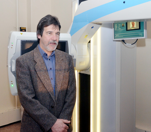WARREN DILLAWAY / Star Beacon<br /> DAVID PANDY SZEKERES, a dual citizen of Canada and Hungary, tours UH Conneaut Medical Center on Tuesday morning. He will be the executive director of Sharing Human Resources Abroad after the retirement of Conneaut founder Rev. Stephen Szyilagi.
