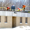 WARREN DILLAWAY / Star Beacon<br /> A NEW addition is constructed to the existing Ashtabula County Jobs and Family Services building at the Donahoe Center in Ashtabula Township.