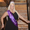 WARREN DILLAWAY / Star Beacon<br /> AMANDA SHANNON of Cuyahoga Falls was crowned Ice Wine Queen 2014 on Saturday at the Red Eagle Distilley in Harpersfield Township.