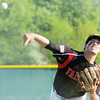 WARREN DILLAWAY / Star Beacon<br /> RYAN ZINDASH pitches for Jefferson on Thursday during a home game with Edgewood.