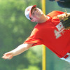 WARREN DILLAWAY / Star Beacon<br /> STEVE PERKIO pitches for Edgewood on Thursday during a game at Jefferson.