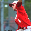 WARREN DILLAWAY / Star Beacon<br /> TONY MAGDA of Edgewood pitches on Tuesday during a home Division II sectional championship game against Perry.