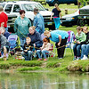 WARREN DILLAWAY / Star Beacon<br /> MORE THAN 270 children participated in the 48th Conneaut Fish and Game Club fishing derby Saturday on the club grounds in Conneaut.