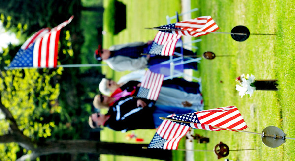 GREENLAWN MEMORY Gardens was decorated with American flags to commemorate Armed Forces Day and upcoming Memorial Day
