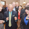 WARREN DILLAWAY / Star Beacon<br /> RETIRED FEDERAL Judge Thomas Lambros (center front) of Ashtabula enjoys a light moment with Ashtabula County Commissioner Peggy Carlo (left) and State Senator Capri Cafaro on Friday during a Law Day event at the Hubbard House Underground Railroad Museum in Ashtabula.
