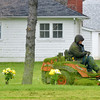 WARREN DILLAWAY / Star Beacon<br /> GREENLAWN MEMORY Gardens is spruced up on Friday afternoon in North Kingsville.