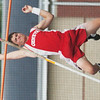 WARREN DILLAWAY / Star Beacon<br /> ZACH WATTS of Geneva competes in the Division I Regional pole vault final at Austintown Fitch on Wednesday. Watts did not make the opening height.