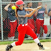 WARREN DILLAWAY / Star Beacon<br /> BECKY DEPP of Geneva takes a mighty swing on Tuesday during a home game with Riverside.
