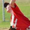 WARREN DILLAWAY / Star Beacon<br /> PHIL YAN of Geneva pitches on Thursday during a home game with Riverside.