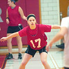 WARREN DILLAWAY / Star Beacon<br /> CARRIE PASQUARELLA (17) of Edgewood defends a Cardinal ball handler during a scrimmage Saturday at Edgewood.