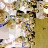 MARGIE NETZEL / Star Beacon<br /> AMERICAN LEGION 103 COLOR GUARD members Carl J. DiDonato and Frank Baldwin watch the St. John School veterans appreciation ceremony with students Monday.