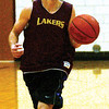 WARREN DILLAWAY / Star Beacon<br /> TIM CROSS of Pymatuning Valley runs the floor during a drill Tuesday in Andover Township.