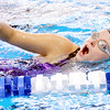 WARREN DILLAWAY / Star Beacon<br /> KENDRA SAWICKI of Lakeside works on her freestyle stroke during swim practice on Thursday night at Spire Institute.