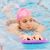 WARREN DILLAWAY / Star Beacon<br /> AMBRIAH CAMPBELL, a junior at Edgewood, warms up for swim practice on Thursday night at Spire Institute.