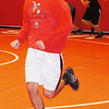 WARREN DILLAWAY / Star Beacon<br /> JOEY BAITT does sprints during Jefferson wrestling practice Monday afternoon.