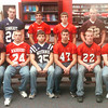 WARREN DILLAWAY / Star Beacon<br /> THE STAR Beacon Ashtabula County Second Team Defense includes (from left seated) Cody Ellis of Pymatuning Valley, Josh Vass of Edgewood, Tyler Drenski of Grand Valley, Justin Butler and Joe Babic of Jefferson and Anthony Monda of Edgewood. (From left standing) Nick Blood of Conneaut, Travis Blake of Geneva, Nick Tripodi of Jefferson and Nick Holt of Pymatuning Valley.