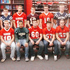 WARREN DILLAWAY / Star Beacon<br /> THE STAR Beacon First Team Defense includes (from left seated) Billy Post of Conneaut, Anthonie Magda of Edgewood, Shawn Gilbert of Lakeside, Matt Kozlowski of Geneva, Troy Stitt and Shayne Crumrine of Jefferson and Glenn Zaller of Grand Valley.  (From left standing) Dakota Brininger of Geneva, Sean Szitas of Grand Valley, Riis Smith of Edgewood, Grant Nowakowski of Pymatuning Valley, Kyle Ashburn of Jefferson, Jake Vormelker and Stanley Sirrine of Grand Valley. Quintin Ratliff of Pymatuning Valley is not pictured.