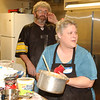 WARREN DILLAWAY / Star Beacon<br /> ROSE AND Frank Bramer have been spearheading a free Thanksgiving Dinner at the Geneva Community Center for 11 years.