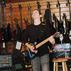WARREN DILLAWAY / Star Beacon<br /> NEIL ZAZA, a world-renowned instrumental guitarist, performed and gave tips during a workshop at Morell Music Store in Ashtabula Saturday afternoon.