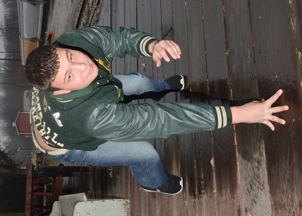 WARREN DILLAWAY / Star Beacon<br /> STAR BEACON Defensive Lineman of the Year Nick Meola of Lakeside.