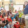 WARREN DILLAWAY / Star Beacon<br /> BURTON COLE, a recently published author of a childrens book and an editor at the Warren Tribune, returns to Ashtabula County on Monday to encourage Kingsville Elementary School students to follow their dreams.