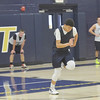 WARREN DILLAWAY / Star Beacon<br /> JAKE SPEES sprints during a Conneaut basketball practice on Monday afternoon.