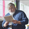 WARREN DILLAWAY / Star Beacon<br /> BURTON COLE, a recently published author of a childrens book and an editor at the Warren Tribune, returns to his roots in Ashtabula County on Monday to encourage Kingsville Elementary School students to follow their dreams.