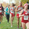 WARREN DILLAWAY / Star Beacon<br /> EMILY DEERING (227) and Geneva teammate Hailey VanHoy (232) finished 8th  and 15th respectively at the Division I District Cross Country Meet at Lakeland Community college Saturday earning spots at the regional meet next week at Boardman.