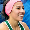 WARREN DILLAWAY / Star Beacon<br /> KAREN BARIENTOS of Lakeside qualified for the Division 1 Ohio High School Athletic Association State Cross Country Meet on Saturday the Boardman regional meet.