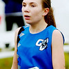 WARREN DILLAWAY / Star Beacon<br /> JESSICA FINLEY, a freshman at Grand Valley, qualified for the Division III state cross country meet Saturday during the regional meet at Boardman.