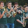 WARREN DILLAWAY / Star Beacon<br /> LAKESIDE HIGH School band plays during a homecoming rally Thursday in downtown Ashtabula.