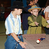 WARREN DILLAWAY / Star Beacon<br /> ANDREW COLE, 11, of Conneaut (left) and Austin Howell, 10, of Endictott, N.Y., enjoy playing games at the Western Fall Festival at South Ridge Christian Academy in Conneaut Friday. The event continues today from 11 a.m. to 9 p.m.