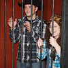 WARREN DILLAWAY / Star Beacon<br /> STEVEN DIPOLITO and Crystal Watson, both of Conneaut, were put behind bars at the Western Fall Festival Friday at South Ridge Christian Academy in Conneaut. The event continues today from 11 a.m. to 9 p.m.