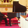 WARREN DILLAWAY / Star Beacon<br /> ERIC ZUBER performed Sunday afternoon at St. Peter's Episcopal Church in Ashtabula. Zuber has won awards at numerous international piano competitions around the world.