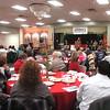 WARREN DILLAWAY / Star Beacon<br /> RENEE PALAGYI, exeuctive director of  American Red Cross Ashtabula County Chapter addresses the 10th Annual Community Heroes Awards Breakfast on Saturday Mount Carmel Community Center in Ashtabula.