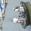 WARREN DILLAWAY / Star BeacON<br /> FISHERMEN TRY their luck in Geneva State Park Marina Harbor on Monday morning.