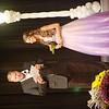 WARREN DILLAWAY / Star Beacon<br /> ANASTACIA PRESCIANO prepares to answer a question from Miss Grapette Master of Ceremonies Jeff Fanchek on Saturday night at Geneva High School.