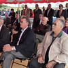 WARREN DILLAWAY / Star Beacon<br /> AREA BUSINESS and political leaders listen to U.S. Senator Sherrod Brown during a visit to Plant C in Ashtabula Township on Monday.