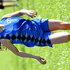 WARREN DILLAWAY / Star Beacon<br /> JESSICA FINLAW of Grand Valley finished second on Tuesday during the Ashtabula County Cross Country Meet at Edgewood.