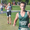 WARREN DILLAWAY / Star Beacon<br /> KYLE FLOWERS of Lakeside won the Ashtabula County  Junior High Cross Country Meet on Tuesday at Edgewood.