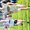 WARREN DILLAWAY / Star Beacon<br /> CALEB HENERY of Lakeside (right) out sprints Brandon Scribben of Jefferson to the finish line on Tuesday at the Ashtabula County Cross Country Meet at Ashtabula.