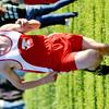 WARREN DILLAWAY / Star Beacon<br /> DARREN HAYDU of Geneva sprints to the finish line at the Ashtabula County Cross Country Meet on Tuesday at Edgewood.
