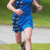 WARREN DILLAWAY / Star Beacon<br /> JESSICA FINLEY of Grand Valley won the Ashtabula County Cross Country Meet Wednesday at Lakeshore Park in Ashtabula Township.