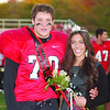 WARREN DILLAWAY / Star Beacon<br /> THE JEFFERSON High School homecoming king and queen Blake Perry and Giulia Giancola were crowned Friday night  prior to the Newton Falls football game.