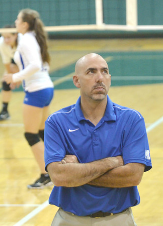 WARREN DILLAWAY / Star Beacon<br /> NORM POTTER is the new Madison volleyball coach.