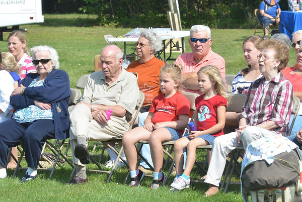 WARREN DILLAWAY / Star Beacon<br /> THREE GENERATIONS participated in the Family Fun Day on Saturday at the Madison Senior Center.