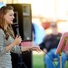 ALLISON LEHR performs at Saybrook Township Park.