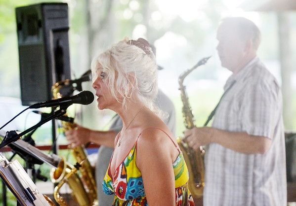WARREN DILLAWAY / Star Beacon<br /> CAT LILLY is the vocalist for Cadillac Lilly that plays at a variety of area summer concert series from Saybrook to Geneva.